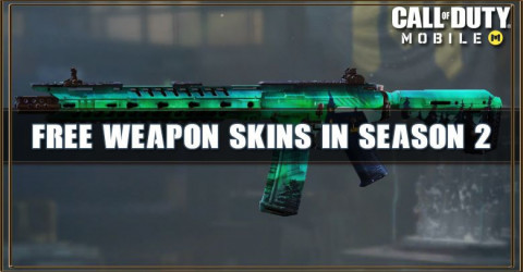 Call of Duty Mobile Season 2: Free Weapon Skins
