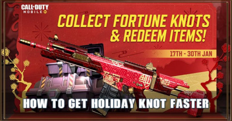 How to get Holiday Knot Fast in COD Mobile Lunar Festival