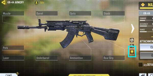 COD Mobile KN-44 Recommended Equipment - zilliongamer