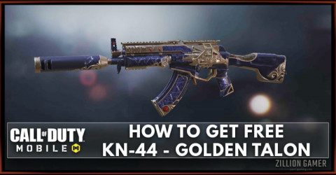How To Get KN-44 - Golden Talon For Free in COD Mobile