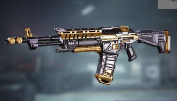 ASM10 Special weapon: Black Gold in Call of Duty Mobile.