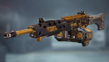 M4LMG Special weapon: Black Gold in Call of Duty Mobile.