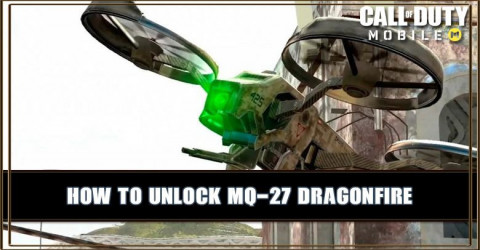 How To Unlock MQ-27 Dragonfire Scorestreak