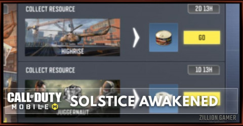 COD Mobile Solstice Awakened Exchange Center Event