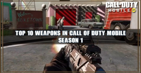 Top 10 Weapons in Call of Duty Mobile Season 1