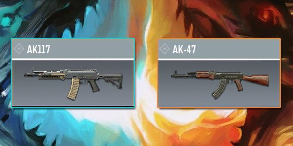 AK117 VS AK-47 - Gun comparison in Call of Duty Mobile.