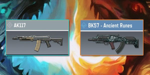 AK117 vs BK57 - Gun Comparison in Call of Duty Mobile.