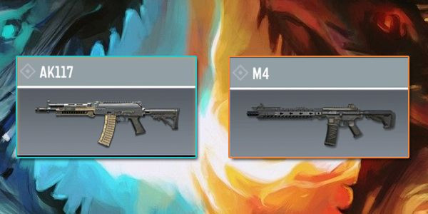 AK117 VS M4 - Gun comparison in Call of Duty Mobile.