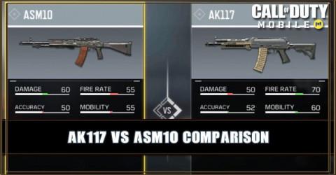 AK117 VS ASM10 Comparison
