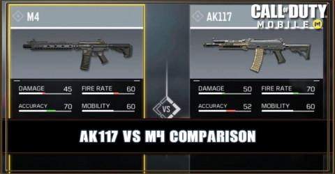 AK117 VS M4 Comparison
