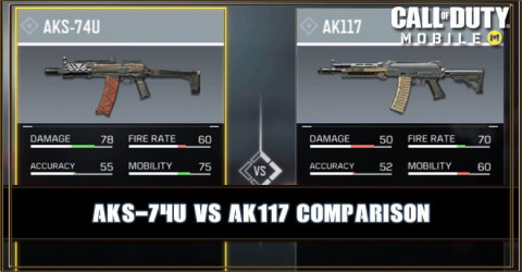 AKS-74U VS AK117 Comparison
