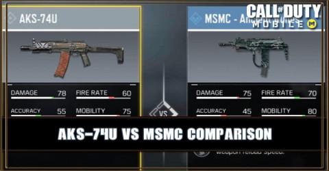 AKS-74U VS MSMC Comparison