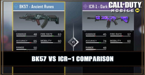 BK57 VS ICR-1 Comparison