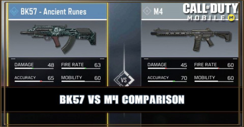 BK57 VS M4 Comparison