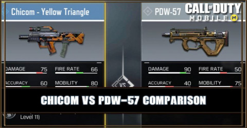 Chicom VS PDW-57 Comparison