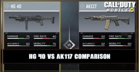 HG 40 VS AK117 Comparison