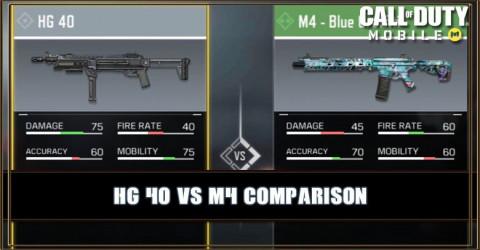 HG 40 VS M4 Comparison