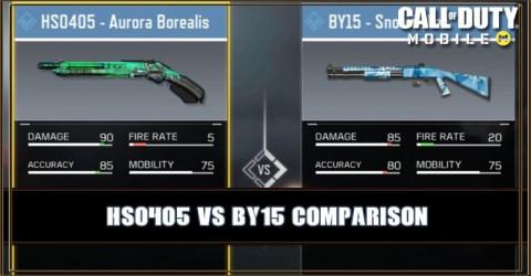 HS0405 VS BY15 Comparion