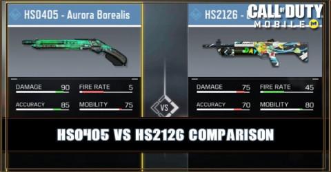 HS0405 VS HS2126 Comparison