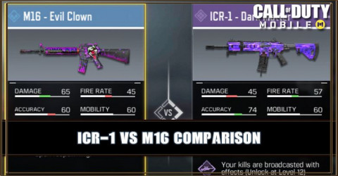 ICR-1 VS M16 Comparison