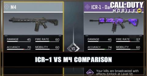 ICR-1 VS M4 Comparison