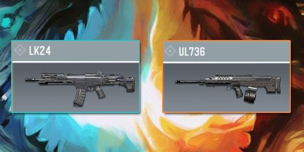 LK24 VS UL736 - Gun Comparison in Call of Duty Mobile.