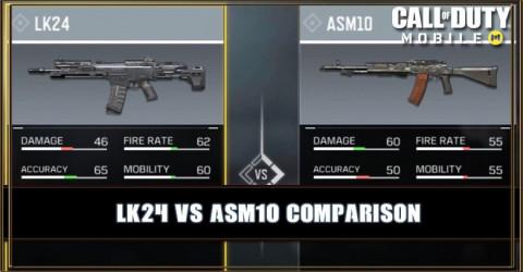 LK24 VS ASM10 Comparison