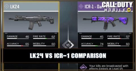 LK24 VS ICR-1 Comparison