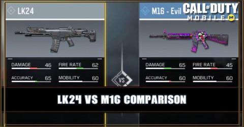 LK24 VS M16 Comparison