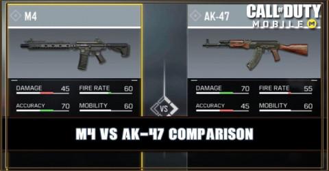M4 VS AK-47 Comparison