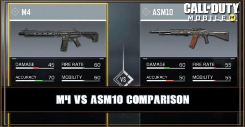 M4 VS ASM10 Comparison