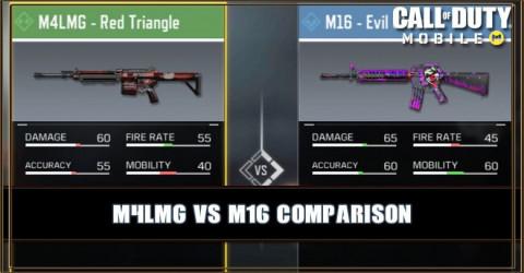M4LMG VS M16 Comparison