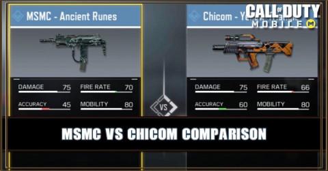MSMC VS Chicom Comparison