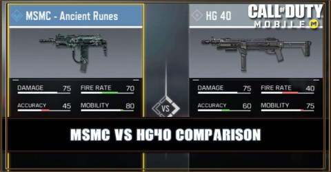 MSMC VS HG 40 Comparison