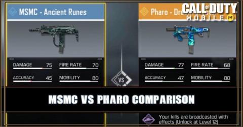 MSMC VS Pharo Comparison