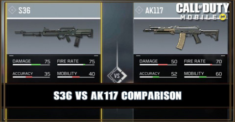 S36 VS AK117 Comparison