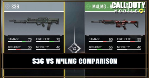 S36 VS M4LMG Comparison