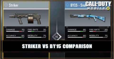 Striker VS BY15 Comparison