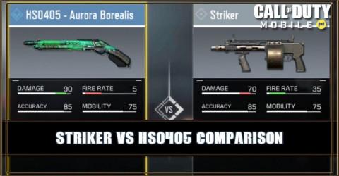 Striker VS HS0405 Comparison