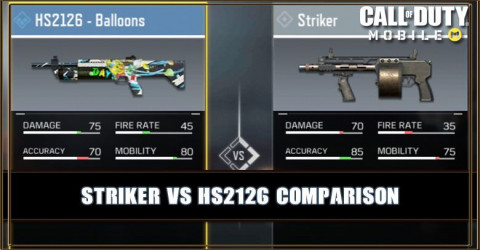 Striker VS HS2126 Comparison