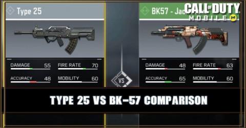 Type 25 VS BK-57 Comparison