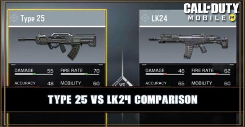 Type 25 VS LK24 Comparison