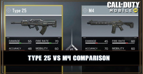 Type 25 VS M4 Comparison