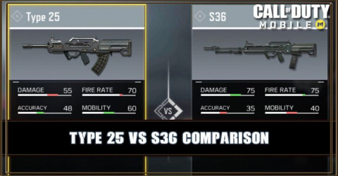 Type 25 VS S36 Comparison