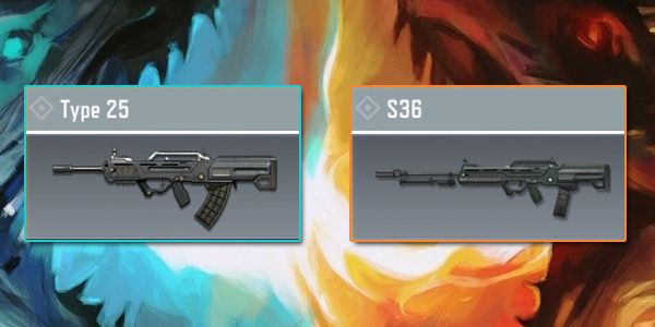 Type 25 VS S36 - Gun Comparison in Call of Duty Mobile