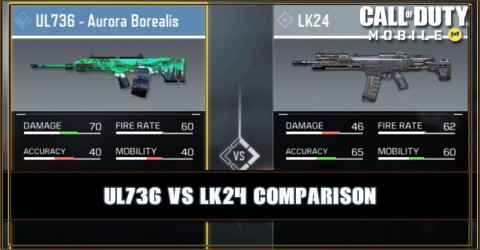 UL736 VS LK24 Comparison