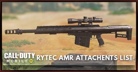 Rytec AMR Gunsmith Attachments List
