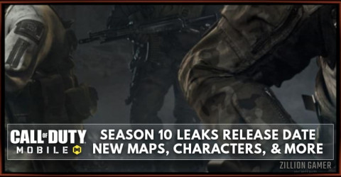 COD Mobile Season 10 Leaks: Release Date, Maps, Characters, and More