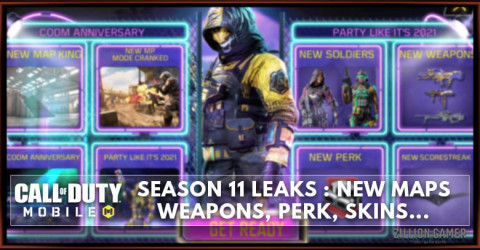 COD Mobile Season 11 Leaks: Release Date, Maps, Weapons, Scorestreak, and More