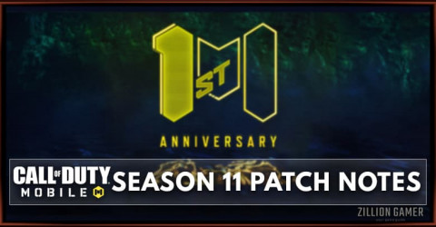 Call of Dut Mobile Season 11 Patch Notes